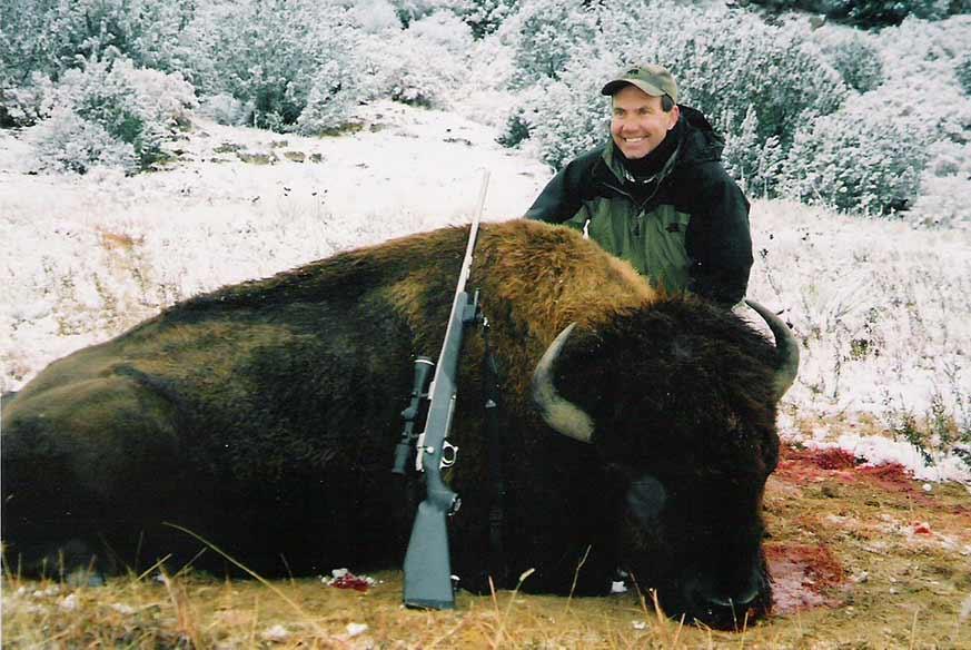 Trophy Bison Hunts